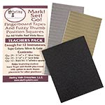 Mark! Set! Go! Fingerboard Tape, Teacher Pack, for Violin or Viola