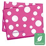 Beaumont Pink Polka Dot Microfiber Large Polishing Cloth