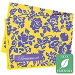 Beaumont Wild Roses Microfiber Large Polishing Cloth