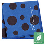 Beaumont Blue Polka Dot Microfiber Small Polishing Cloth