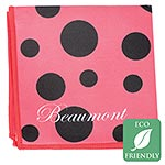 Beaumont Ladybird Microfiber Small Polishing Cloth