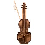 Cherub Box Violin & Bow