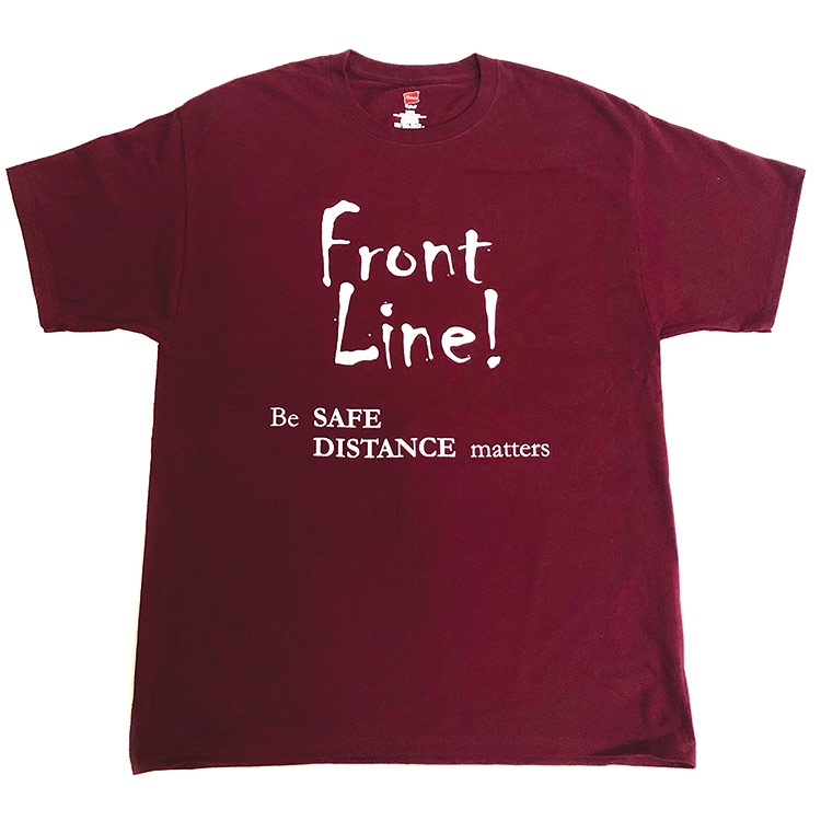 Front Line Back Off T-Shirt - XX-Large