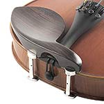 Guarneri Rosewood Chinrest for Violin with Hill Bracket