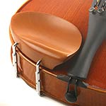 Hill Boxwood Chinrest for Violin with Standard Bracket