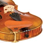 SAS Pearwood Chinrest for Violin or Viola with 28mm Plate Height and Gold-Plated Bracket