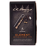 LR Baggs Element Active System with Volume and Tone Control Undersaddle Guitar Pickup