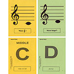 General Music Regular Size Laminated Flashcards