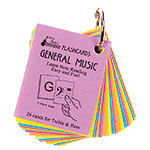 General Music Mini Size, Laminated Flashcards