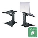 K&M 12190 Laptop Stand, Black