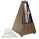 Wittner 845131 Traditional Metronome: Plastic Walnut