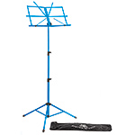Boston Blue Folding Music Stand with Bag