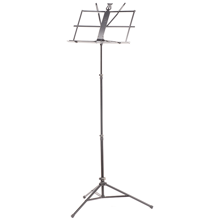 Peak SMS-10 Folding Music Stand with Steel Legs, Black