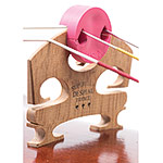 Tourte Style Round Mute for Viola, Pink