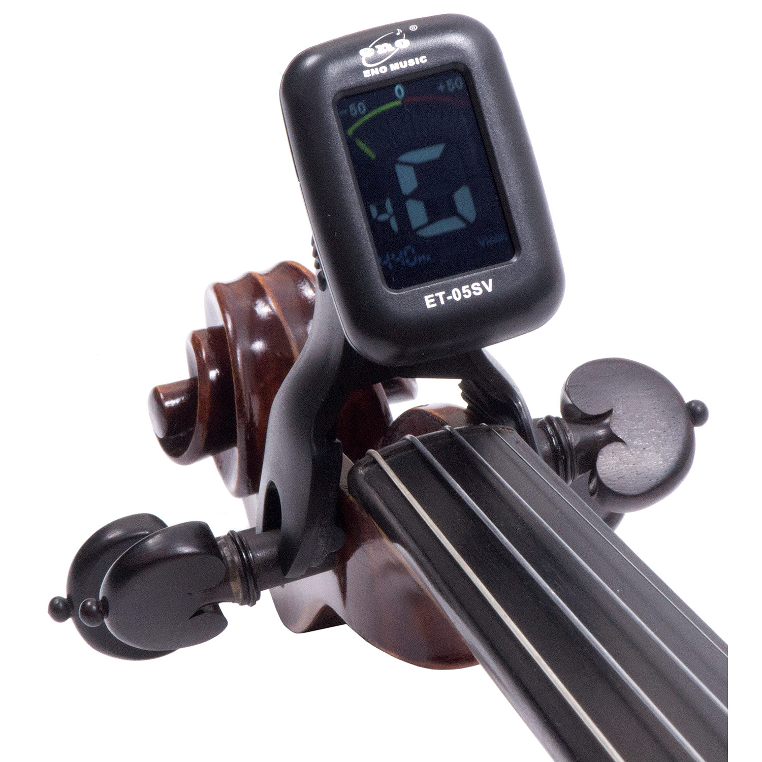 Eno ET-05SV Clip-On Digital Tuner - Black | Johnson String