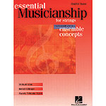 Essential Musicianship/Fundamental Concepts for bass (Hal Leonard)