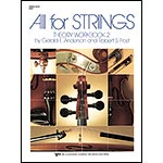 All for Strings Theory Workbook 2, Bass; Anderson/Frost
