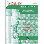 Scales for Strings, book 1 for bass; Samuel Applebaum
