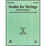 Scales for Strings, book 2 for bass; Samuel Applebaum