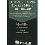 Elson's New Pocket Music Dictionary (TP)