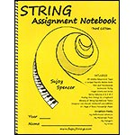String Assignment NoteBook, 2nd edition; Sujoy Spencer (Sujoy Strings)