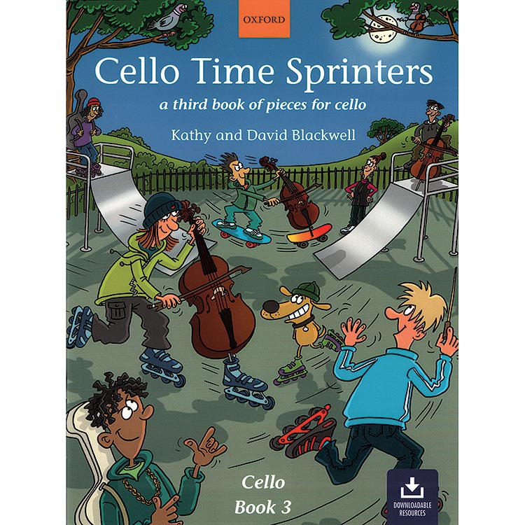 Cello Time Sprinters, Book with online audio access (Book 3); Kathy & David Blackwell (Oxford University Press)