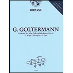 Concerto no.4 in G, op.65, book/CD, cello;Goltermann (Do