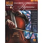 Favorite Christmas Hymns for cello, with online audio access; Various (Hal Leonard)