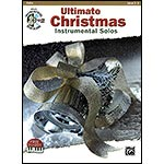 Ultimate Christmas Instrumental Solos, for cello, book with CD (Alfred Publishing)
