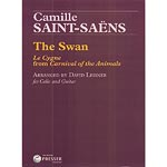 The Swan, arranged for cello and guitar; Camille Saint-Saens (Presser)
