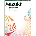 Suzuki Cello School, Volume 1, Piano accompaniment - International Edition