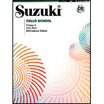 Suzuki Cello School, Volume 4, Book with CD - International Edition