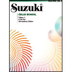 Suzuki Cello School, Volume 4 - International Edition