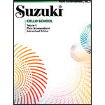 Suzuki Cello School, Volume 6, Piano accompaniment - International Edition