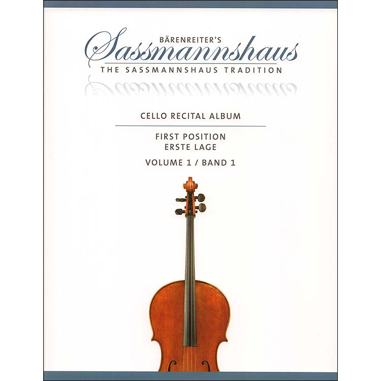 Cello Recital Album | 1st Position | Volume 1