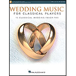 Wedding Music for Classical Players, cello and piano with online audio access (Hal Leonard)