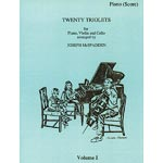 Twenty Triolets for piano, violin and cello, volume 1 (McSpadden); Various (Young Musicians)