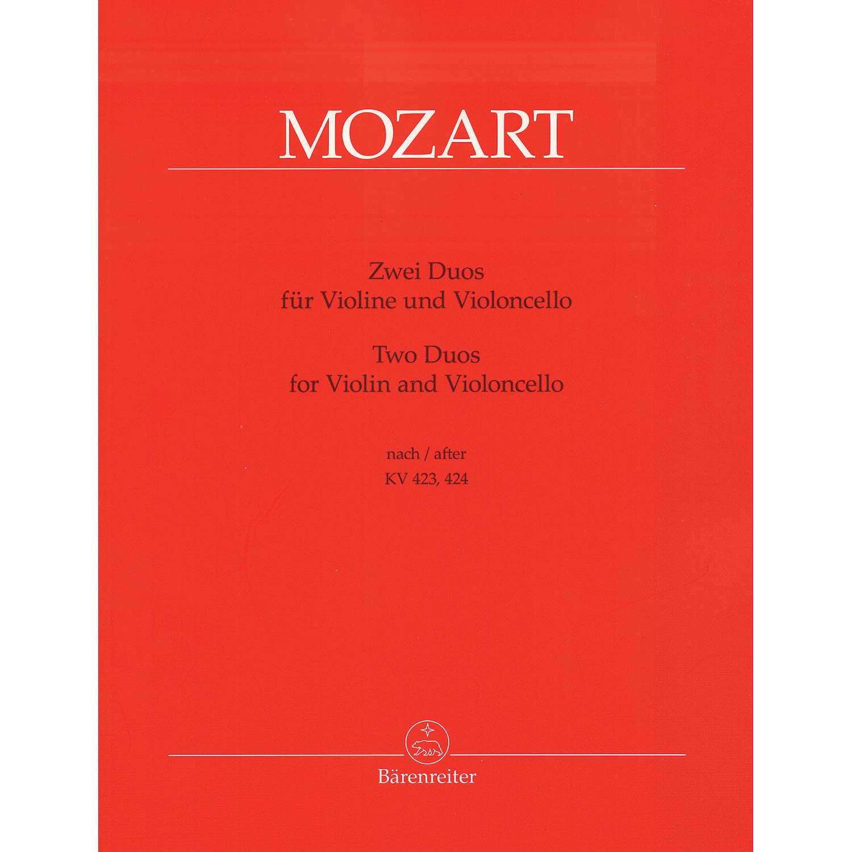 Two Duets, KV 423, 424 (violin/cello)