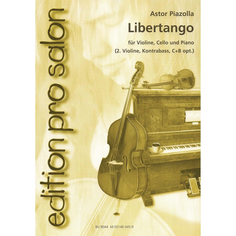 Libertango for piano trio