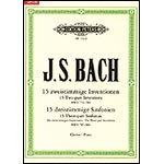 Sticky Notes: 15 Two and Three-Part Inventions by Johann Sebastian Bach (Edition Peters)