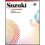 Suzuki Piano School, Volume 1, Book with CD - International Edition