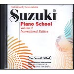 Suzuki Piano School, Volume 2 CD (Azuma) - International Edition