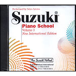 Suzuki Piano School, Volume 3 CD (Azuma) - International Edition