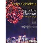 Top o' the Millenium for two violas; Peter Schickele (Theodore Presser)