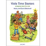 Viola Time Starters, book with CD; Kathy & David Blackwell (Oxford University Press)
