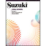 Suzuki Viola School, Volume 3, Piano accompaniment - Revised Edition