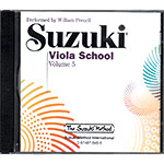 Suzuki Viola School, CD volume 5 (Preucil)
