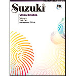Suzuki Viola School, Volume 6, Book with CD - International Edition