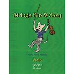 Strings Fun & Easy, viola book 3 with CD; David Tasgal (DT)