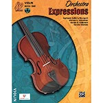 Orchestra Expressions, Book/CD 1, for violin; Brungard et al. (Alfred)